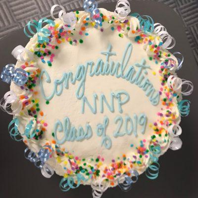 Neonatal Nursing Masters - Class of 2019 Cake